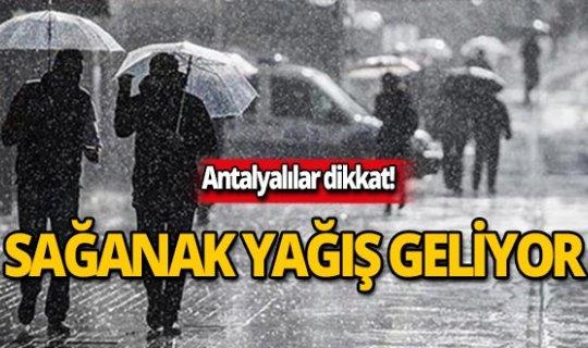 2 Kasım Antalya hava durumu