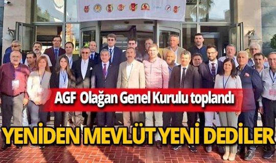 AGF seçimlerinde Mevlüt Yeni güven tazeledi!