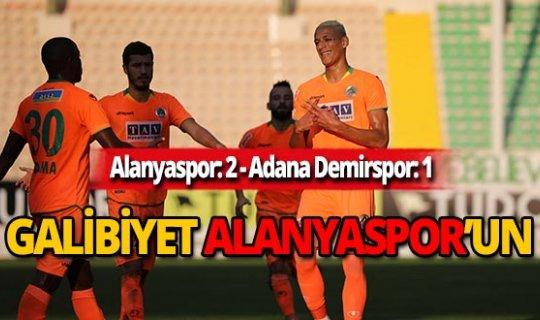 Alanyaspor Adana Demirspor'u 2-1 mağlup etti