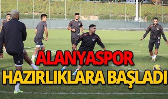 Alanyaspor'dan Trabzonspor maçına hazırlık