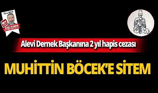 Alevi Dernek Başkanına 2 yıl hapis cezası