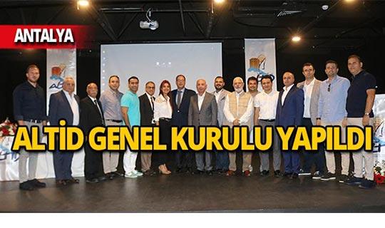 ALTİD Genel Kurulu'nda Burhan Sili başkan seçildi