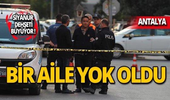 Antalya'da siyanür şüphesi dehşete düşürdü!