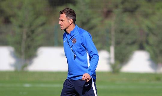 Antalyaspor'da Stjepan Tomas ile ikinci çalışma