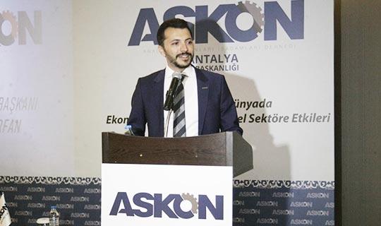 ASKON Antalya 2020 yılına damga vuracak