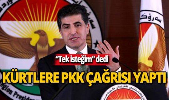 """Barzani: """"Türkiye'nin Suriye'deki Kürtlerle değil PKK ile sorunu var"""""""