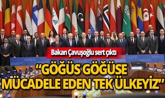 Dışişleri Bakanı Mevlüt Çavuşoğlu 'DEAŞ ile göğüs göğüse mücadele eden tek ülkeyiz'