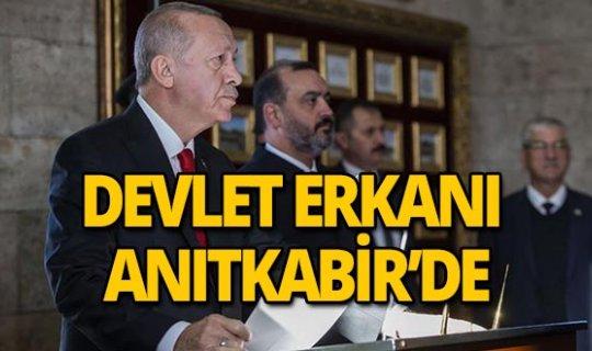 """Cumhurbaşkanı Erdoğan: """"Cumhuriyetimizi ilelebet yaşatmak için tüm gücümüzle çalışacağız"""""""
