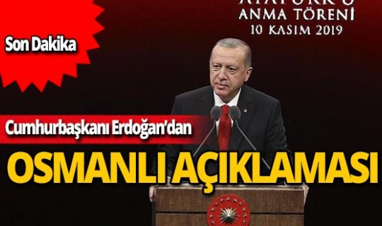 Cumhurbaşkanı Erdoğan'dan Atatürk istismarına sert tepki