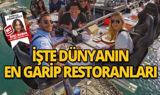 Dünyanın en ilginç 16 restoranı!
