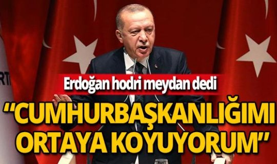 Erdoğan'dan 'Saray'daki CHP'li' iddiasına yanıt