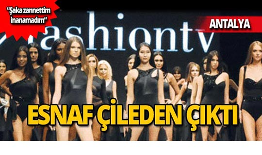 'Fashion TV' izledi, ceza ödedi!