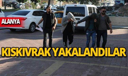 Hapis cezası bulunan 2 şüpheli yakalandı