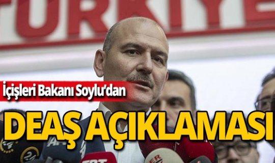 İçişleri Bakanı Soylu: Biz kimsenin DEAŞ mensubunun oteli değiliz