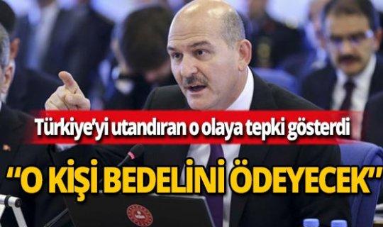 İçişleri Bakanı Soylu'dan sert tepki!