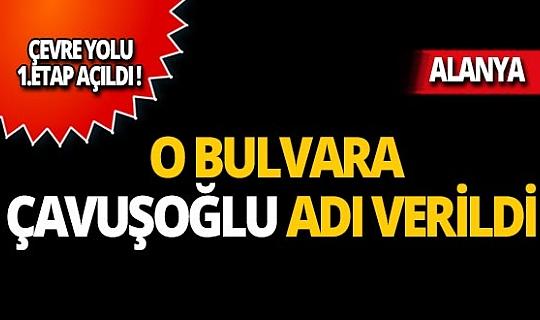Alanya Belediyesinden Bakan Mevlüt Çavuşoğlu'na yakışır karar