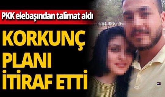 PKK elebaşının talimatını itiraf etti! Herkes şoke oldu