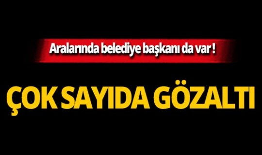 PKK'nın 'kadın alan yapılanması'na operasyon!