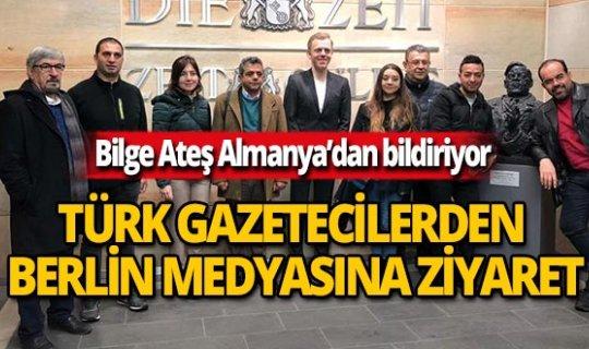 Türk gazetecilerden Alman medyasına ziyaret