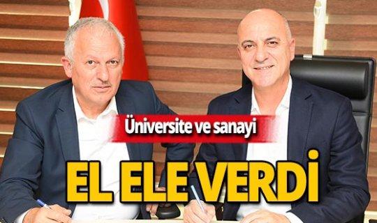 Üniversite ve sanayi ortak proje üretecek