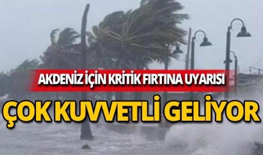 Antalya dikkat! Meteoroloji'den kritik uyarı