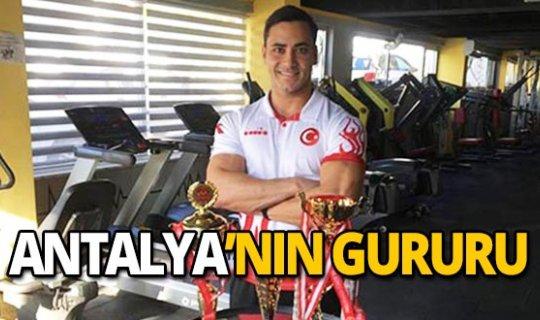 Antalyalı sporcu dünya 6.'sı oldu!