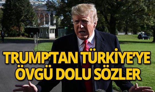 Bakın Trump hangi konuda Türkiye'yi övgülere boğdu