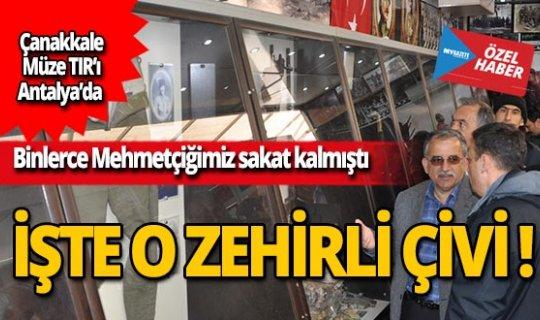 Çanakkale Müze TIR'ı Antalya'da!