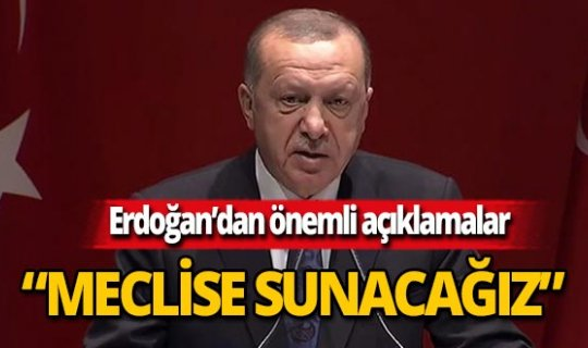 """Cumhurbaşkanı Erdoğan: """"Davet edildiğimiz yere gideriz"""""""