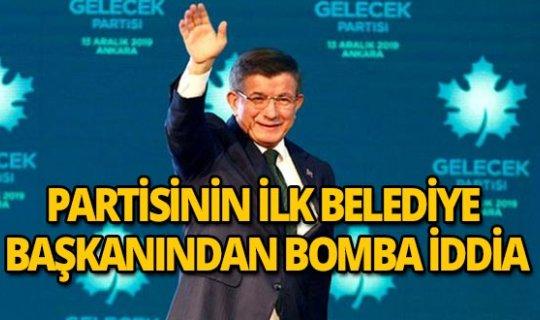 """Gelecek Partisi'nin ilk belediye başkanından bomba iddia: """"Başkaları da var..."""""""