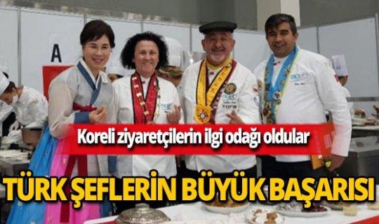 Kore'de Türk şeflerin büyük başarısı