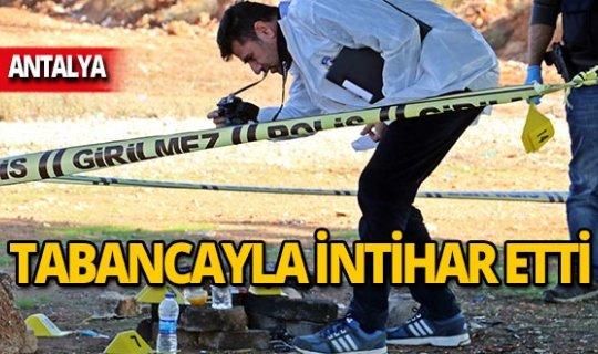 Kurusıkı tabancayla intihar etti!