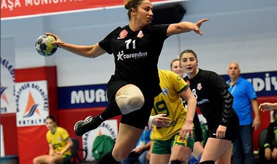 Muratpaşa Kadın Hentbol Takımında galibiyet sevinci