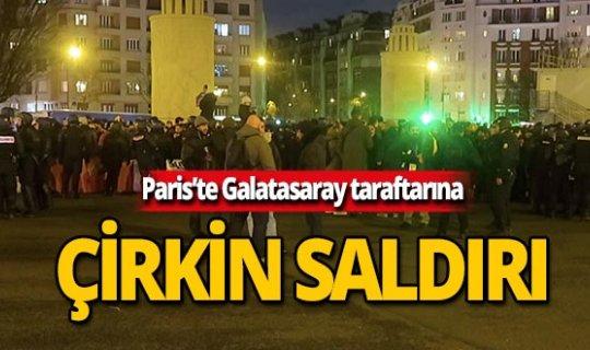 Paris'te Galatasaray taraftarına çirkin saldırı!