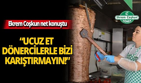 Sektörün lider markası Ekrem Coşkun net konuştu!