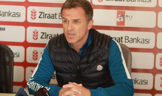 """Stjepan Tomas: """"Bizim için zor bir maç oldu"""""""