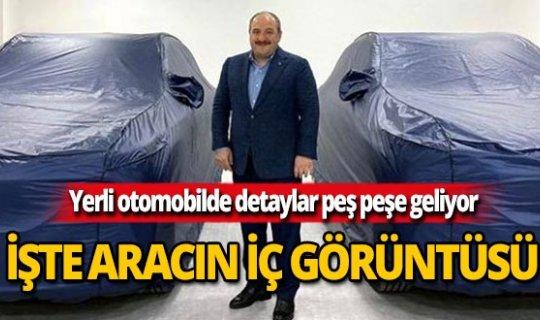 Türkiye'nin yerli otomobilinin iç görüntüsü paylaşıldı!