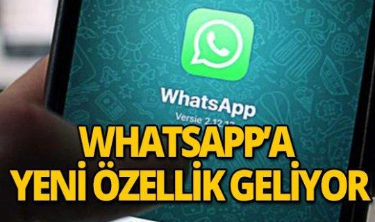 WhatsApp kullananlar dikkat! Beklenen özellik geliyor