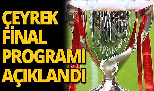 Alanyaspor ve Antalyaspor'un çeyrek final programı açıklandı !