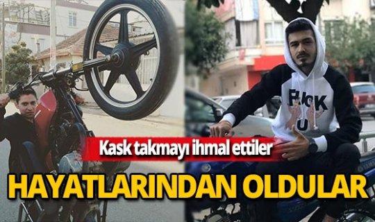 Antalya'da film gibi kaza faciayla bitti