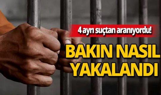 Antalya'da kıskıvrak yakalandı