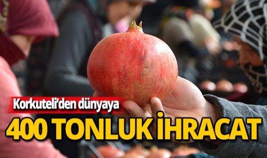 Antalya'dan dünyaya dağılıyor!