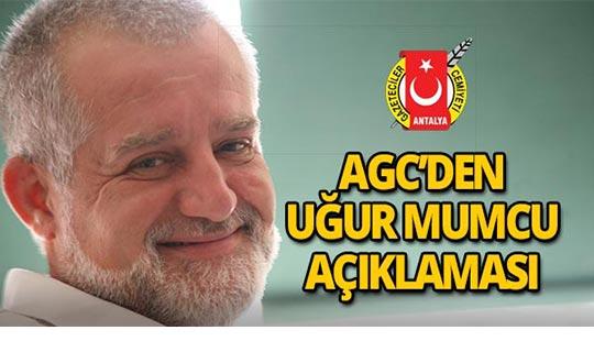 Antalya Gazeteciler Cemiyeti Uğur Mumcu'yu andı