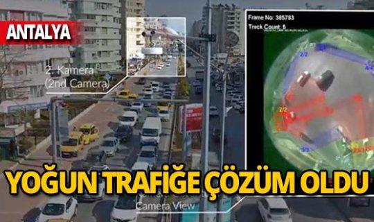 Antalya'nın en yoğun kavşaklarında artık trafik yok!