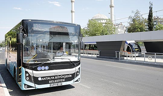 Antalya ulaşımında yeni dönem