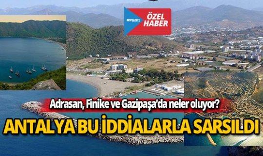Antalya'yı sarsan iddialar!