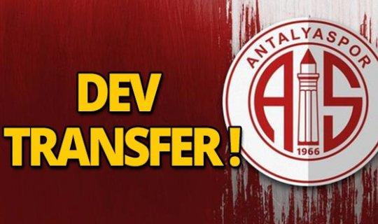 Antalyaspor'a yeni transfer!