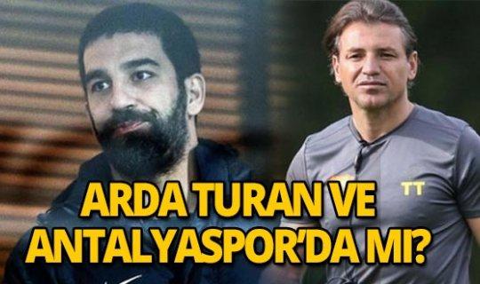Arda Turan Antalyaspor'da mı?