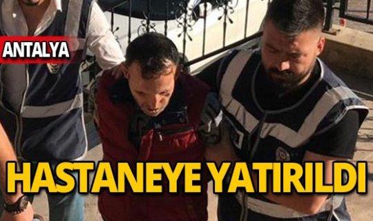 Bursa İnegöl Cezaevi'nde yatan yüz nakilli Recep Sert, Antalya'ya getirildi