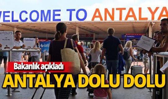 Doluluk oranında zirve Antalya'nın!